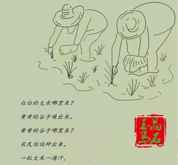 大米手绘图片步骤